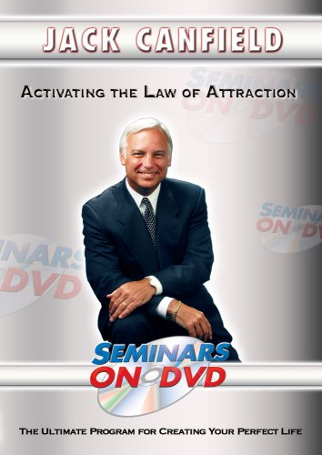 Jack Canfield - Activating the Law of Attraction - Motivational DVD Training Video DVD Image