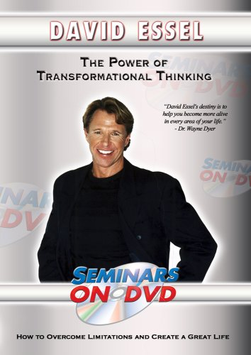 Transformational Thinking - How to Overcome Limitations and Create a Great Life - Motivational DVD Training Video DVD Image