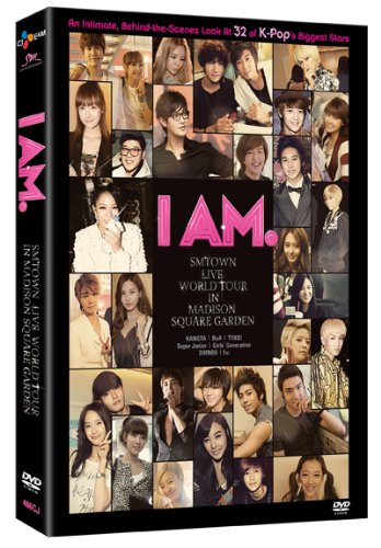 I AM: SMTOWN Live at Madison Square Garden DVD Image