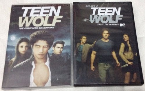 TEEN WOLF Seasons 1 and 2 DVD Sets (BOTH TOGETHER) MTV Tyler Posey DVD Image