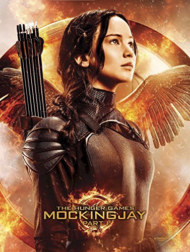MOCKINGJAY PART 1 KATNISS Limited Edition FABRIC Poster (Was part of Target Pre-0rder for BLU-RAY Combo Pack) 40