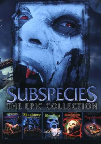 Subspecies - Epic Collection (1998) DVD Image