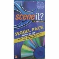 Scene It Sequel Pack Edition DVD Game DVD Image