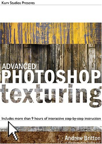 Advanced Photoshop Texturing DVD Image