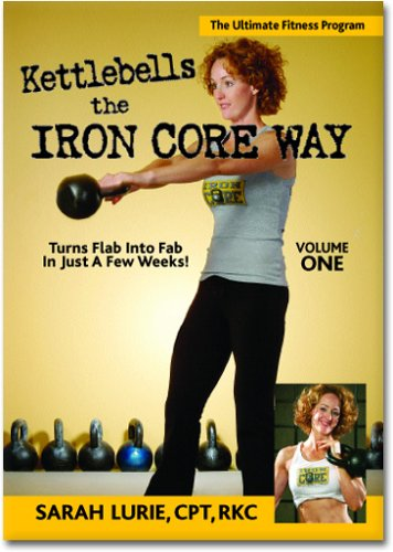 Kettlebells The Iron Core Way Volume 1 (Complete Guide to Kettlebell Training with Follow Along Workout) DVD Image