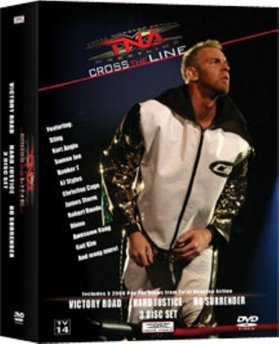 TNA: Cross the Line PPV 3 Pack - Christian Cage DVD Image