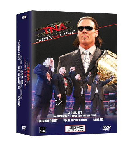 TNA Cross The Line PPV Vol 2 (Turning Point, Final Resolution & Genesis) DVD Image