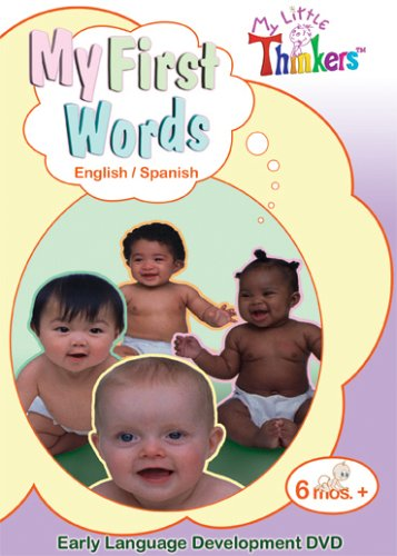 My Little Thinkers: My First Words- English/Spanish DVD Image