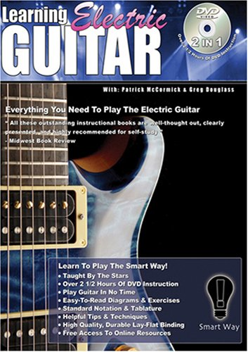 Learning Electric Guitar DVD Image