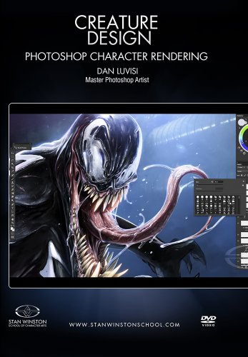 Creature Design- Photoshop Character Rendering DVD Image