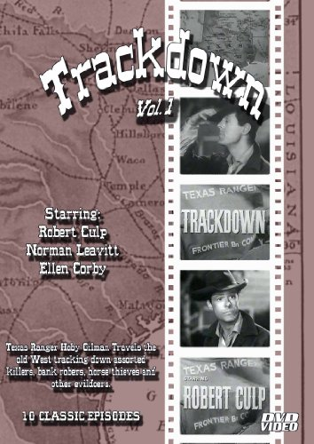 Trackdown-DVD- Volume ONE-Starring Robert Culp-10 Episodes DVD Image