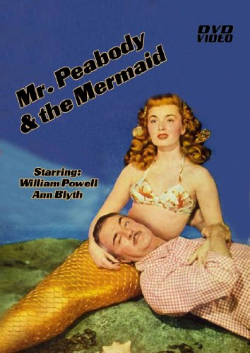 Mr. Peabody and the Mermaid-DVD-Movie-Starring William Powell DVD Image