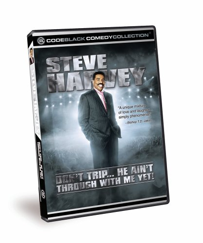 Steve Harvey - Don't Trip... He Ain't Through With Me Yet! DVD Image