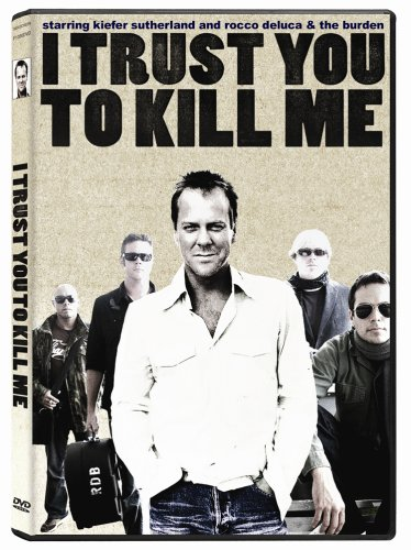 I Trust You to Kill Me DVD Image