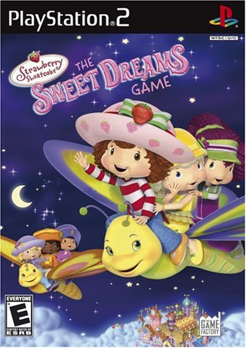 Strawberry Shortcake: Sweet Dreams Game DVD Image