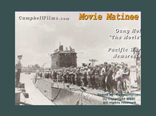 Gung Ho! The Movie; WW2 The attack of Makan Island by USMC Marices 1942 old films DVD DVD Image