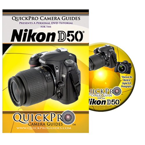 Nikon D50 Instructional DVD by QuickPro Camera Guides [VHS] DVD Image