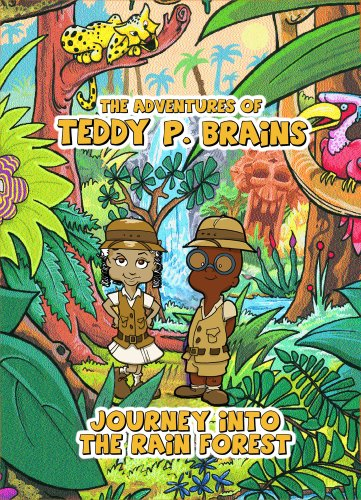 The Adventures of Teddy P. Brains: Adventures Into The Rain Forest (2007) DVD Image