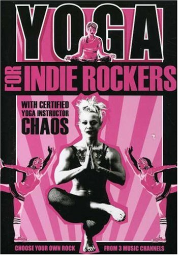 Yoga for Indie Rockers DVD Image