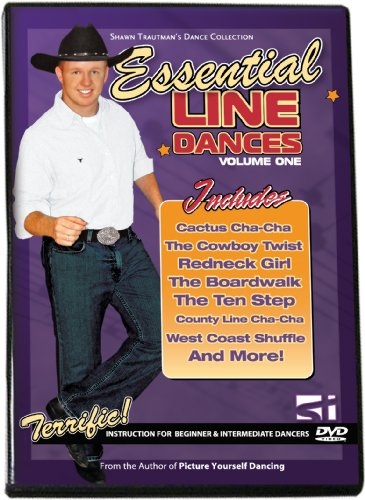 Essential Line Dances Volume 1 (Shawn Trautman's Learn to Dance Series) DVD Image