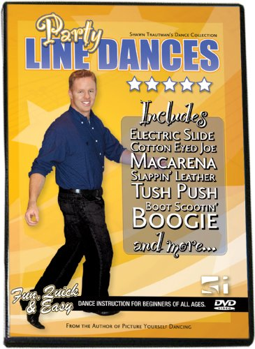 Party Line Dances (Shawn Trautman's Learn to Dance Series) DVD Image