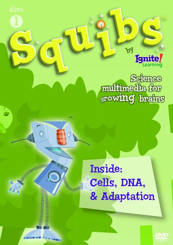 Squibs Disc 1 - Inside:  Cells, DNA, & Adaption DVD Image