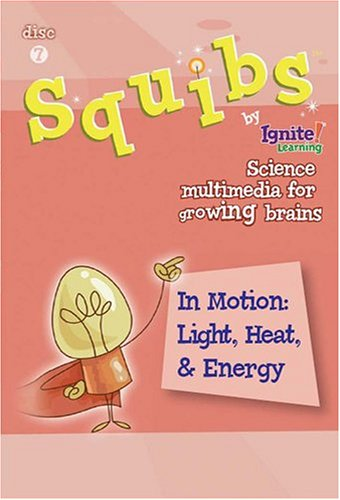 Squibs Science Disc 7 - In Motion:  Light, Heat, & Energy DVD Image