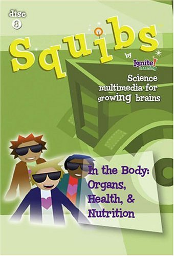 Squibs Science Disc 8 - In the Body:  Organs, Health, & Nutrition DVD Image