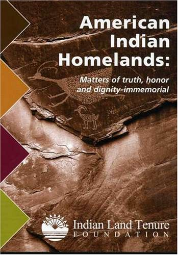American Indian Homelands: Matters of Truth, Honor and Dignity DVD Image