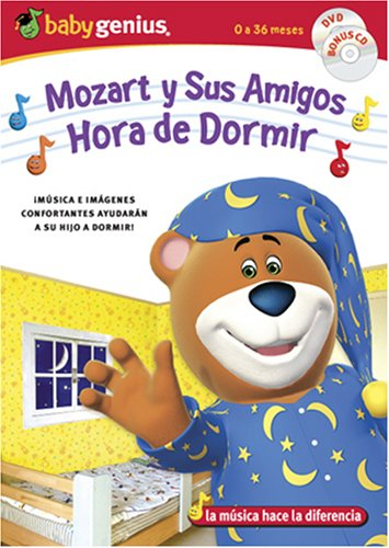 Baby Genius: Mozart And Friends (Genius Products/ DVD/CD Combo) / Sleepy Time (DVD/CD Combo) DVD Image