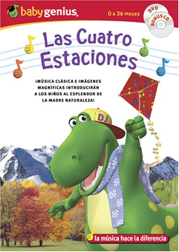 Baby Genius: The Four Seasons (Genius Products/ DVD/CD Combo/ En Espanol: Las Cuatro Estaciones) DVD Image