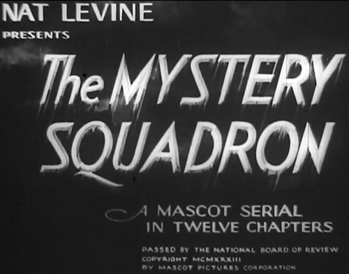 Mystery Squadron, Old Films 1933 12 Chapter Movie Serial 2 Disc set DVD DVD Image