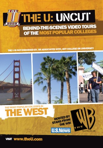 THE U: UNCUT - College Tour DVD (The West) DVD Image