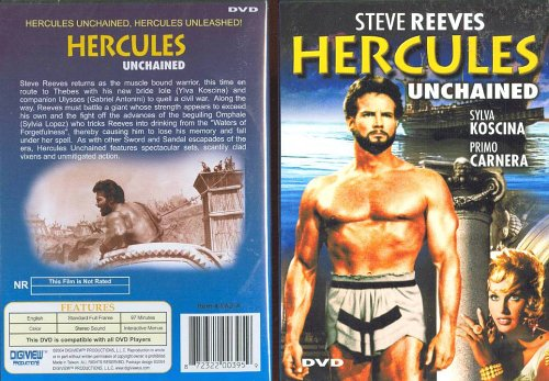 Hercules Unchained [Slim Case] DVD Image