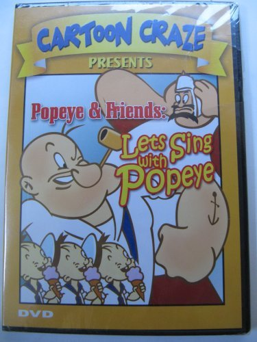 Cartoon Craze Popeye & Friends: Lets Sing with Popeye DVD Image