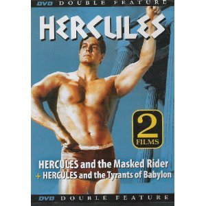 Double Feature: Hercules and the Masked Rider + Hercules and the Tyrants of Babylon DVD Image