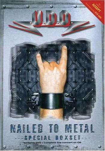 Nailed to Metal DVD Image