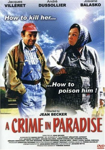 A Crime in Paradise DVD Image