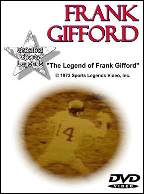 Frank Gifford Greatest Sports Legends DVD DVD Image