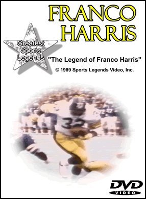 Franco Harris Greatest Sports Legends DVD DVD Image