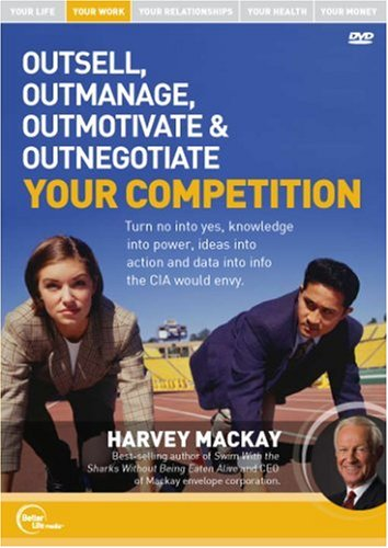 Harvey Mackay Live - Outsell, Outmanage, Outmotivate & Outnegotiate Your Competition DVD Image