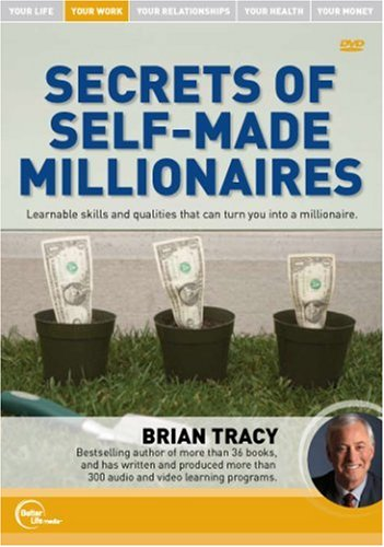 Brian Tracy Live - Secrets of Self-Made Millionaires DVD Image