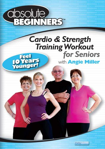 Absolute Beginners - Cardio & Strength Training Workout for Seniors DVD Image