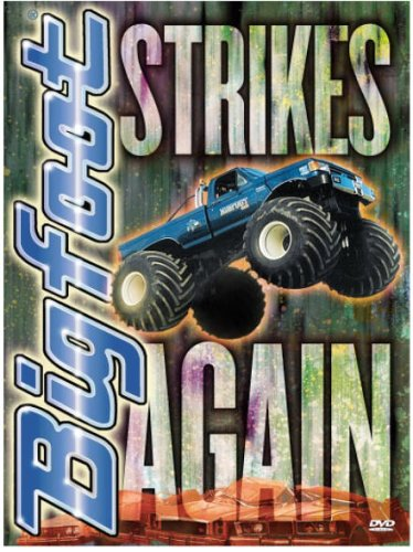 Bigfoot Strikes Again - Monster Truck Madness DVD Image