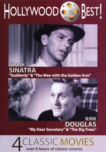 Hollywood Best! Frank Sinatra & Kirk Douglas - 4 Classic Movies Includes: Suddenly, The Man with the Golden Arm, My Dear Secretary and The Big Trees DVD Image