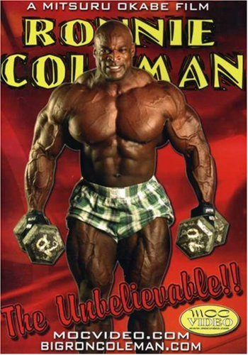 Ronnie Coleman: The Unbelievable! (Bodybuilding) DVD Image