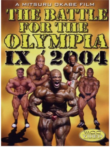 The Battle for Olympia 2004, Vol. IX (Bodybuilding) DVD Image