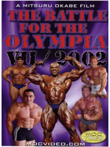 The Battle for Olympia 2002, Vol. VII DVD Image