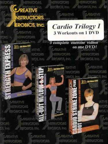 Cardio Trilogy, Vol. 1: 3 Complete Workouts DVD Image