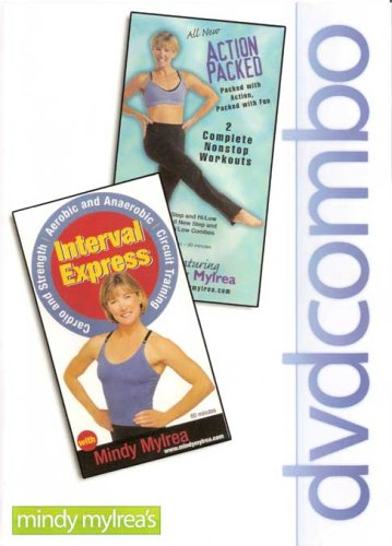 Mindy Mylrea: Action Packed/Interval Express DVD Image